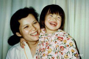 霊芝による微小循環の正常化が認知機能改善に 家族の笑顔